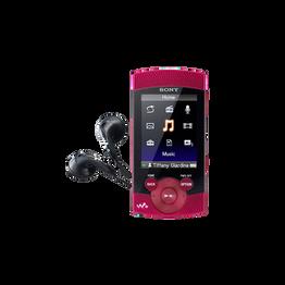 8GB S Series Video MP3/MP4 Walkman (Red)