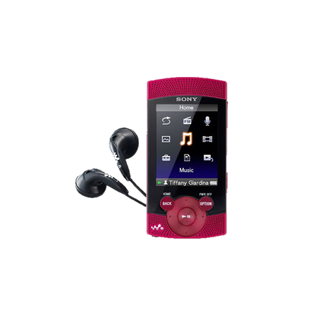 8GB S Series Video MP3/MP4 Walkman (Red)