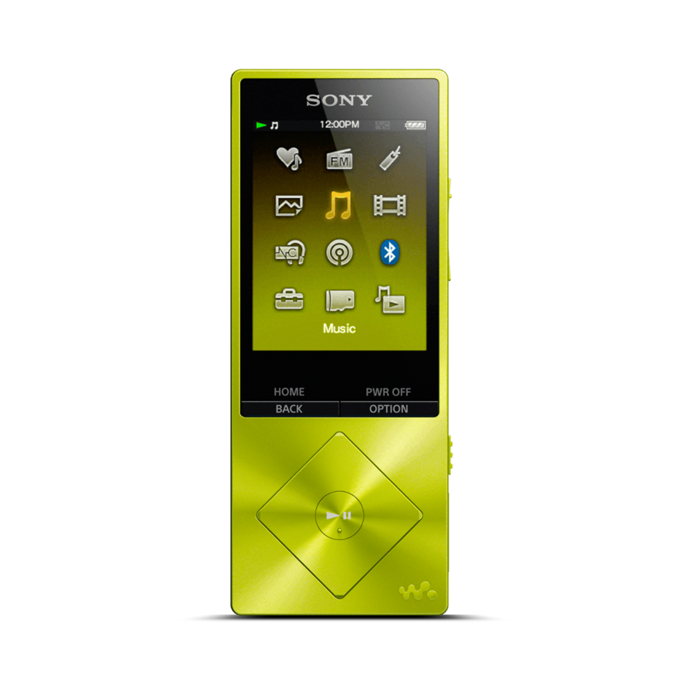 A Series High-Resolution Audio 16GB Walkman (Yellow), , hi-res