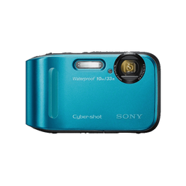 16.1 Megapixel T Series 4X Optical Zoom Cyber-shot Compact Camera (Blue), , hi-res