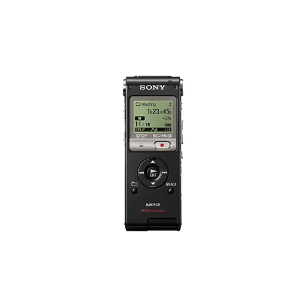 2GB UX Series MP3 Digital Voice IC Recorder (Black)