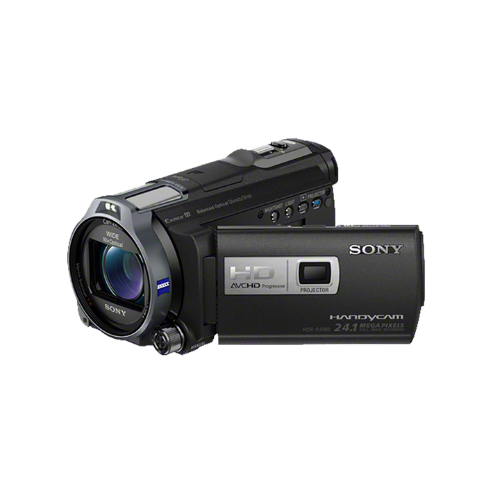HD 96GB Flash Memory Handycam with Built-in Projector, , product-image