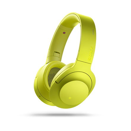 h.ear on Wireless Noise Cancelling Headphones (Yellow), , hi-res