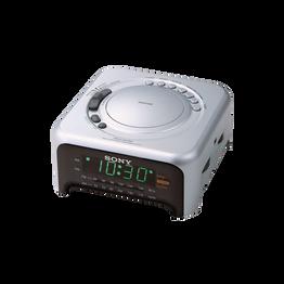 Clock Radio - Silver, , hi-res