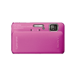 16.2 Megapixel T Series 4X Optical Zoom Cyber-shot Compact Camera (Pink), , hi-res