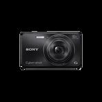 16.1 Megapixel W Series 10X Optical Zoom Cyber-shot Compact Camera (Black), , hi-res