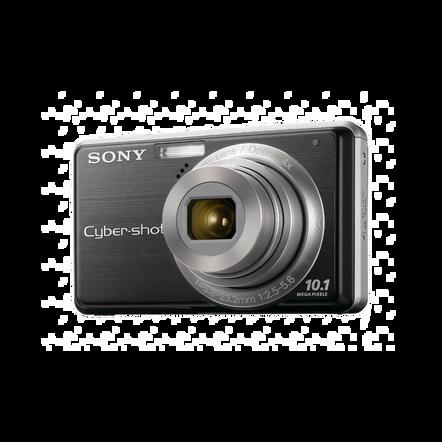10.1 Megapixel S Series 4X Optical Zoom Cyber-shot Compact Camera (Black), , hi-res