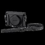Jacket Case For Cyber-shot DSC-HX50V Black, , hi-res