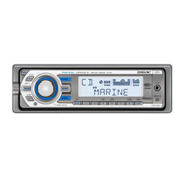 Marine MP3 M30 Series Radio/CD Head Unit, , hi-res