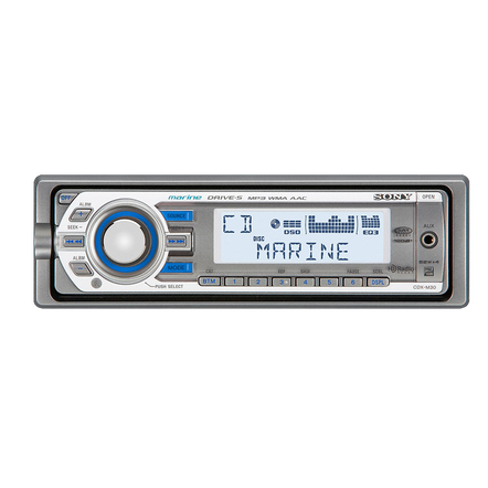 Marine MP3 M30 Series Radio/CD Head Unit, , hi-res
