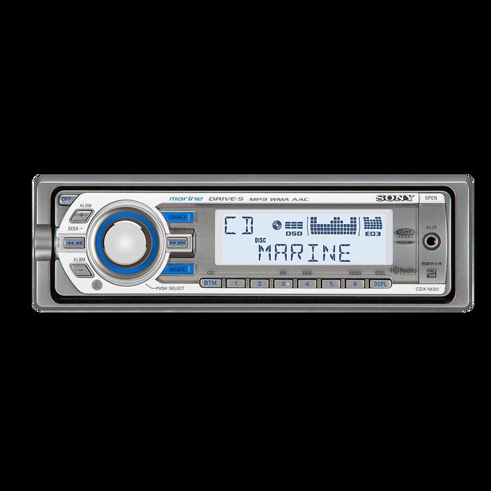 Marine MP3 M30 Series Radio/CD Head Unit, , product-image