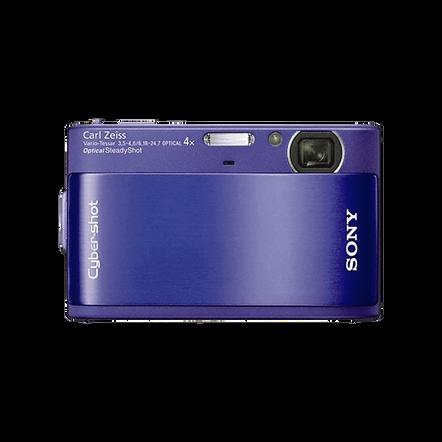 10.2 Megapixel T Series 4X Optical Zoom Cyber-shot Compact Camera (Blue), , hi-res
