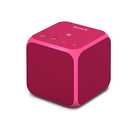 Mini Portable Wireless Speaker with Bluetooth (Pink), , hi-res