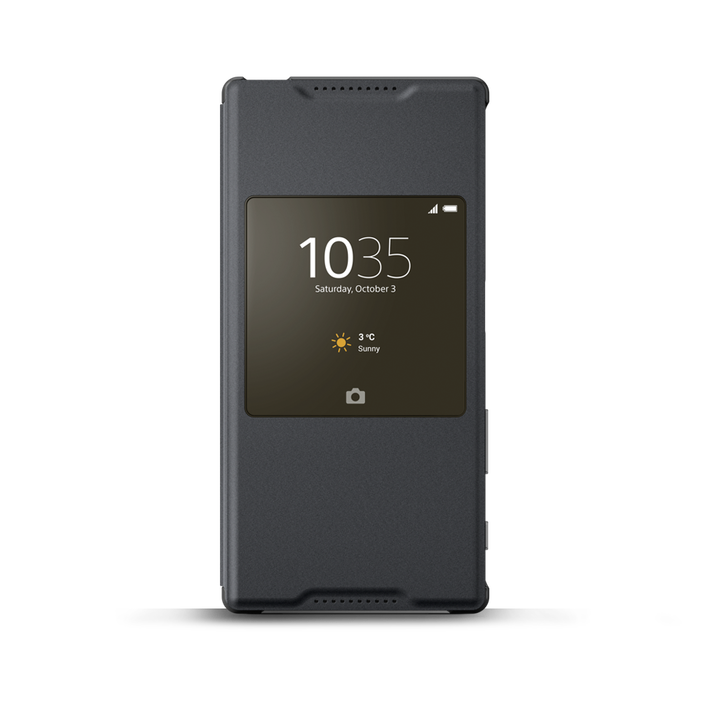 Smart Cover Stand SCR42 for Xperia Z5 (Graphite Black), , product-image