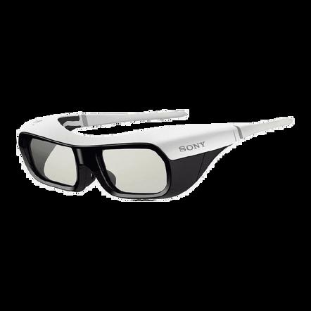 Small Active Shutter 3D Glasses for BRAVIA Full HD 3D TV (White), , hi-res