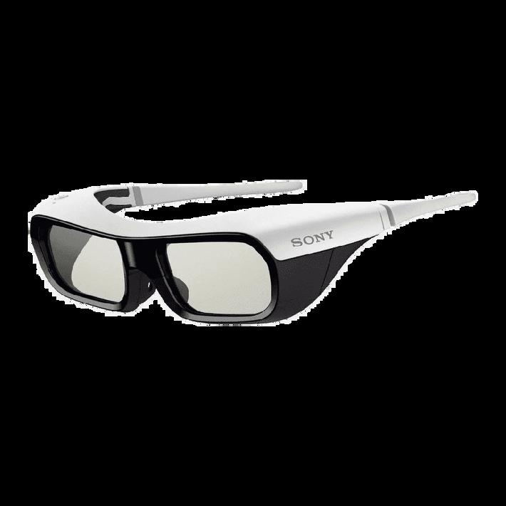 Small Active Shutter 3D Glasses for BRAVIA Full HD 3D TV (White), , product-image