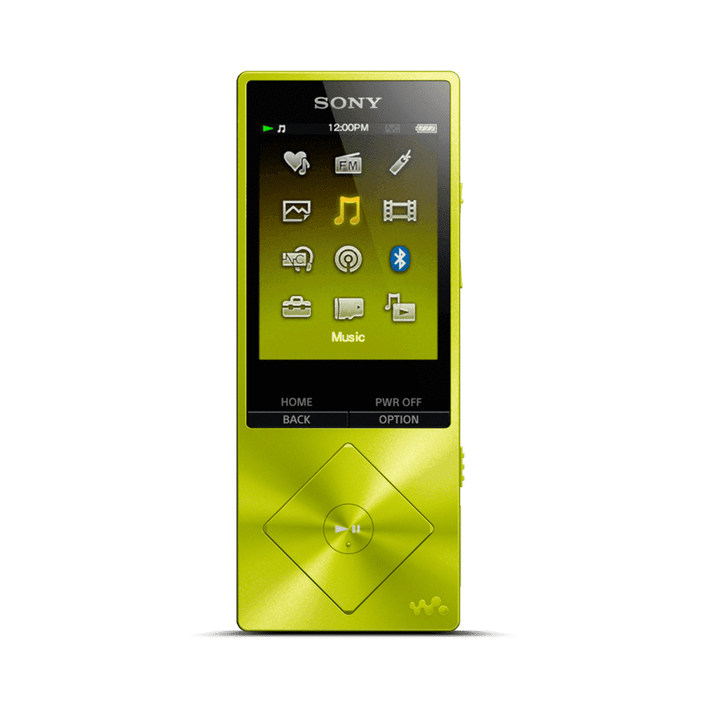A Series High-Resolution Audio 16GB Walkman (Yellow), , product-image