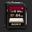 64GB SDXC MEMORY CARD UHS-1 CL10