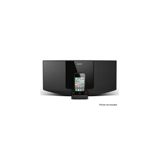 Hi-Fi Sound System with iPhone/iPod Dock (Black)