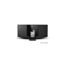 Hi-Fi Sound System with iPhone/iPod Dock (Black), , hi-res