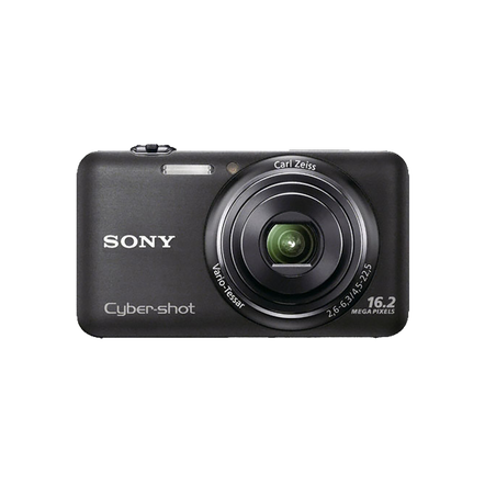 16.2 Mega Pixel W Series 5x Optical Zoom Cyber-shot (Black), , hi-res