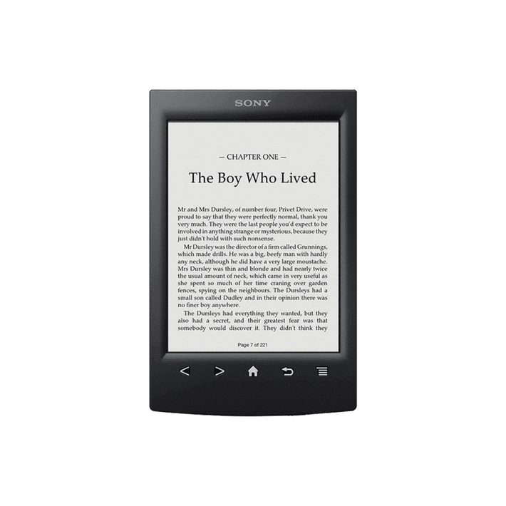 T2 Reader with 6.0 Paper-Like Touch Screen with Complimentary Harry Potter Ebook (Black), , product-image