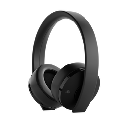PlayStation4 Gold Wireless Stereo Headset (Black)