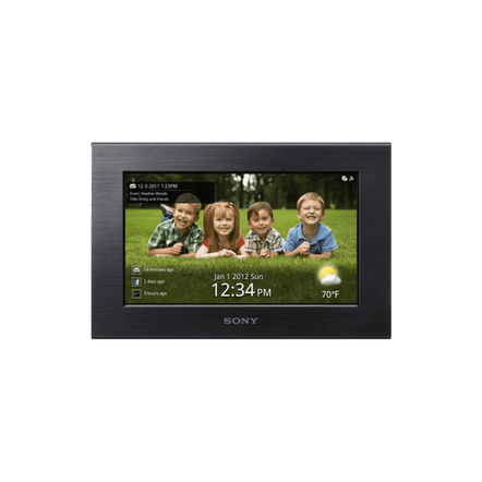 "7.0"" Wi-Fi Digital Photo Frame (Black), , hi-res"