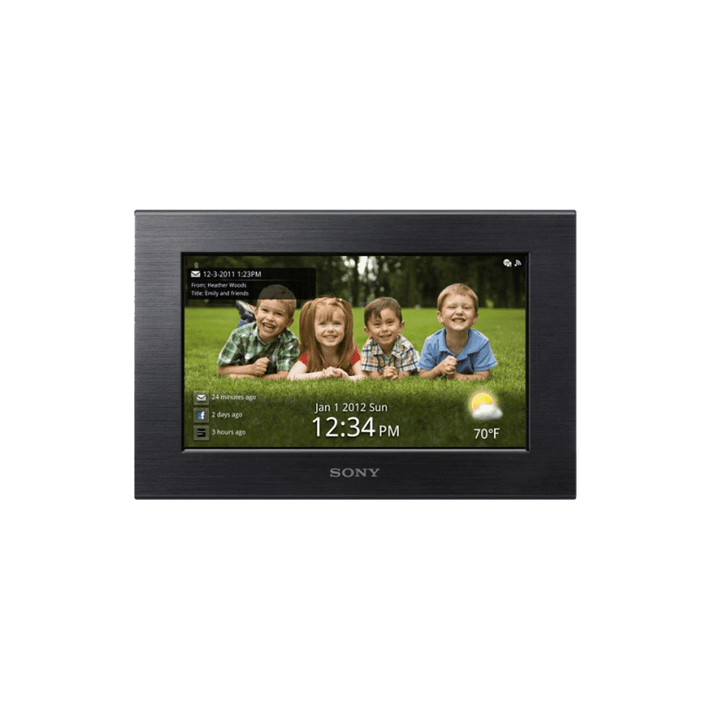 "7.0"" Wi-Fi Digital Photo Frame (Black), , product-image"