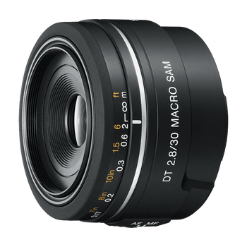 A-Mount DT 30mm F2.8 Macro SAM Lens, , hi-res