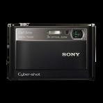 8.1 Megapixel T Series 3X Optical Zoom CyberShot (Black), , hi-res