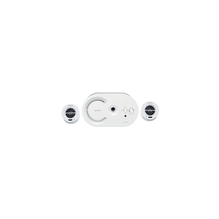 Multi-Channel Portable Speakers (White)
