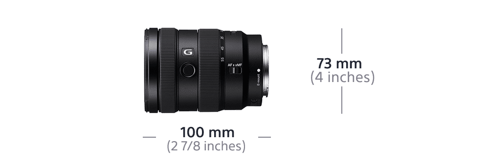 APS-C E-Mount 16-55mm F2.8 G Zoom Lens, , product-image