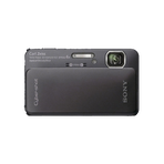 16.2 Megapixel T Series 4X Optical Zoom Cyber-shot Compact Camera (Black), , hi-res