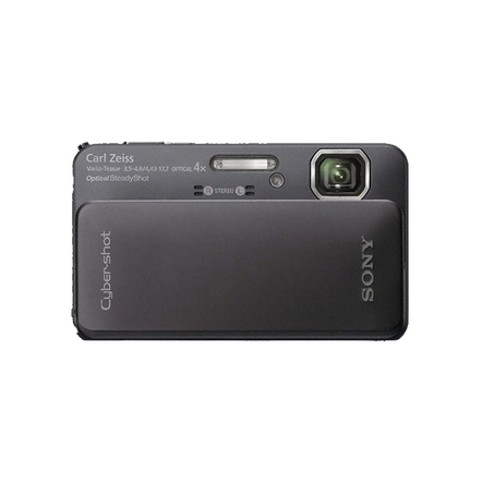 16.2 Megapixel T Series 4X Optical Zoom Cyber-shot Compact Camera (Black)