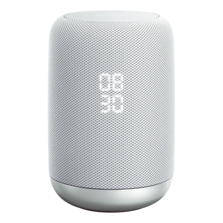 Google Assistant Built-in Wireless Speaker (White) with LIFX Mini Colour