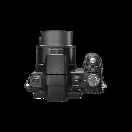 9.1 Mega Pixel H Series 15x Optical Zoom Cyber-shot (Black), , hi-res