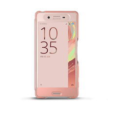 Style Cover Touch SCR50 for Xperia X (Rose Gold)