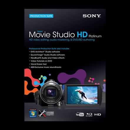 Vegas Movie Studio Hd Platinum 10 Production Suite, , hi-res