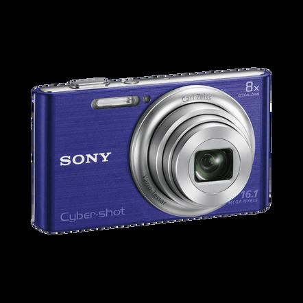 16.1 Megapixel W Series 8X Optical Zoom Cyber-shot Compact Camera (Blue), , hi-res