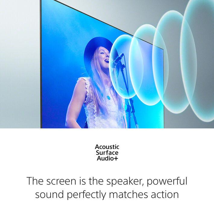 "65"" A90J | BRAVIA XR | MASTER Series OLED | 4K Ultra HD | High Dynamic Range | Smart TV (Google TV), , product-image"