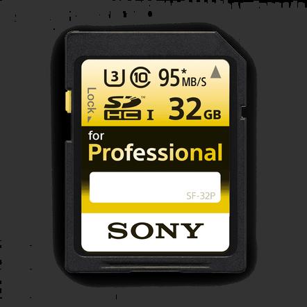 Professional SD 32GB Memory Card, , hi-res