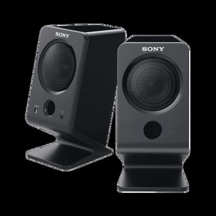 2.0 Channel Multimedia Speakers (Black), , hi-res