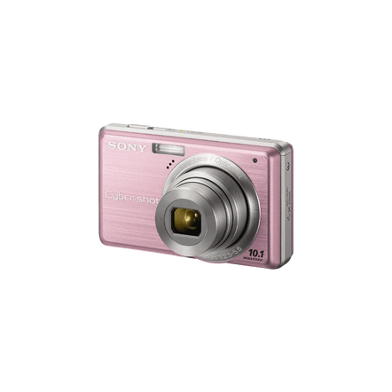 10.1 Megapixel S Series 4X Optical Zoom Cyber-shot Compact Camera (Pink)
