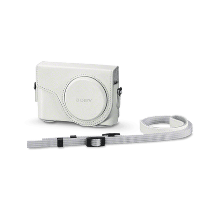 Jacket Case For Cyber-shot WX350 White, , hi-res