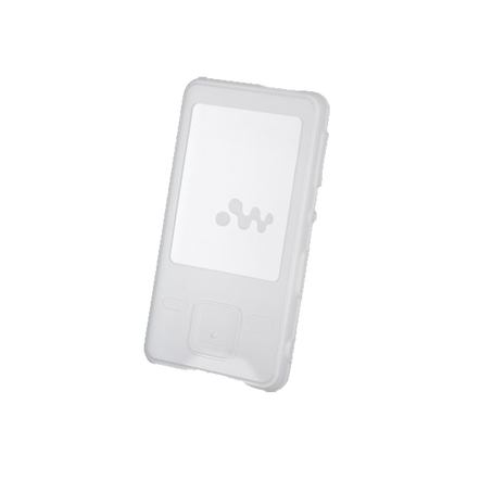 Silicone Carrying Case for Walkman MP3 Player (White), , hi-res