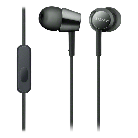 EX155AP In-Ear Headphones (Black)