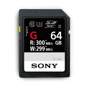 64GB SF-G  Series UHS-II SD Memory Card, , hi-res