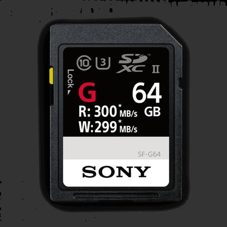 64GB SF-G  Series UHS-II SD Memory Card, , hi-res