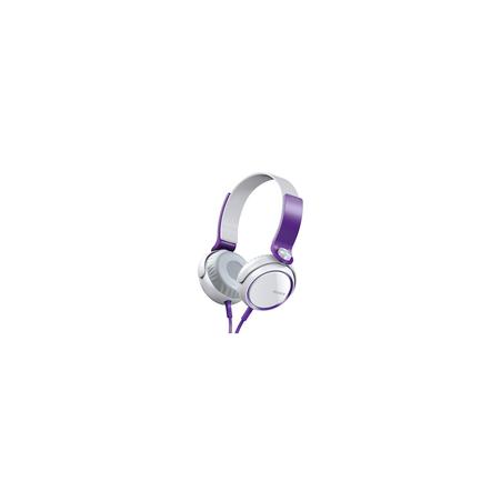 XB400 Extra Bass (XB) Headphones (Violet)